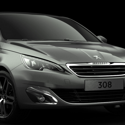 Peugeot : 308 Salon de Francfort