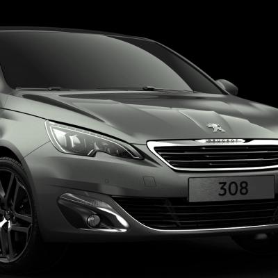 Peugeot : 308 Salon de Francfort